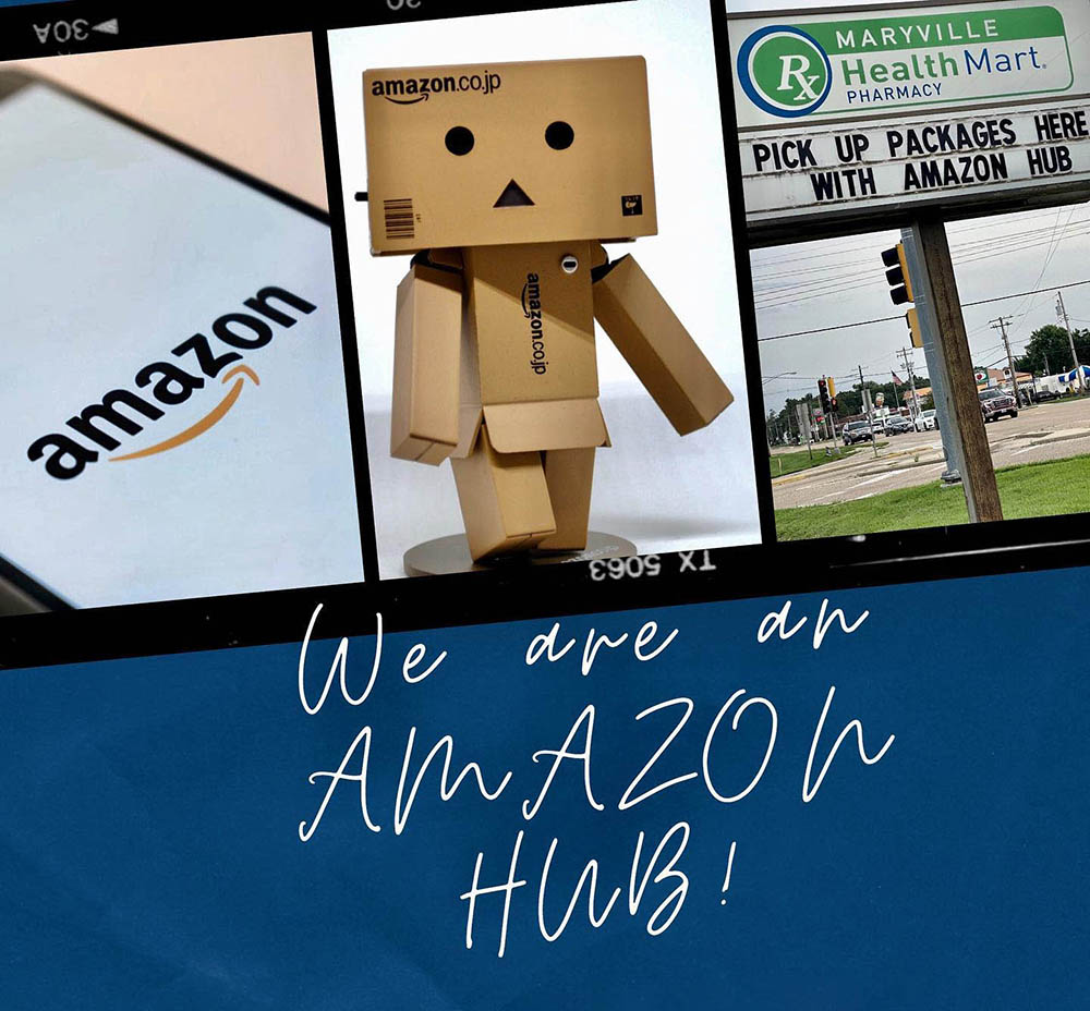 Learn More About Maryville Pharmacy's Amazon Hub